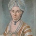 exemple d'habillement et bijoux vers 1760