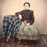Portrait de jeune fille, anonyme, Roussillon, 1860