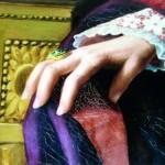 détail de la main de Jules de Carsalade du Pont