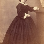 Portrait de Lucie salamo en 1863, photo Germain, Perpignan