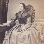 Portrait de femme, photo Cabibel, Perpignan, vers 1860