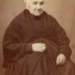 Photo Cabibel, Perpignan, femme agée en chale et coiffe catalane, vers 1860.