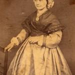 Portrait d'Esperance Polge (1836 1907) photo Grando à Prades, 1860.