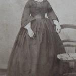 Portrait de femme, photo Germain, Perpignan, 1860