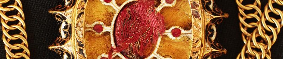 Médaillon reliquaire de Thuir, XVIIe s.