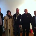 Le président de l'Institut entouré des membres du conseil d'administration
