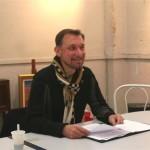 Mr Fonquernie pdt de l'institut du Grenat
