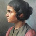 Jeune fille gitane du Roussillon, Blanquer, vers 1900.