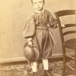 Portrait de jeune garçon, Perpignan, vers 1860