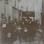 Prades procession du Corpus, vers 1900.