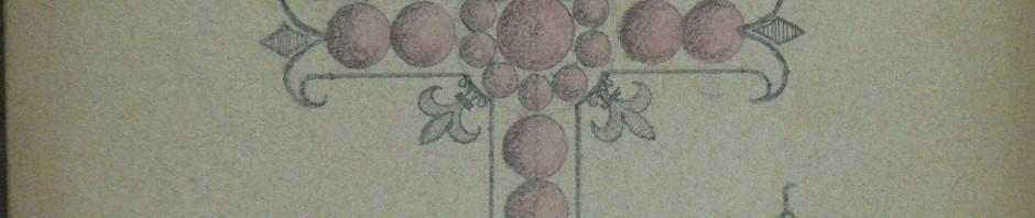 Croix de Chambord en grenat de Perpignan (maison Charpentier)