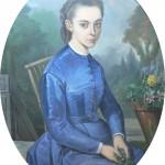 Portrait de jeune femme, Urbain Viguier