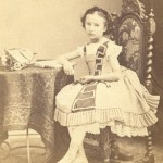 Portrait de jeune fille , Perpignan, vers 1860