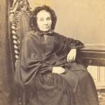 Portrait de femme agée, Perpignan, vers 1860