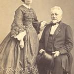 Portrait double, Perpignan, vers 1860
