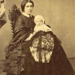 Portrait de femme avec bébé, Perpignan, vers 1860