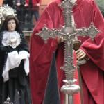 croix et bourdon d'argent , Le Christ et la Vierge, Sanch Perpignan 2009