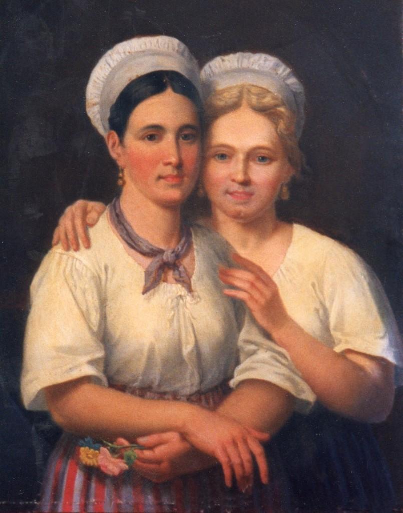 deux catalanes de Guiraud Musée Rigaud Perpignan