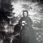 Portrait de femme, vers 1870, cl. Louis Companyo, collection Mediathèque de Perpignan, fonds ancien.