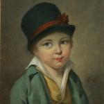 Gamelin-portrait d'enfant, coll. part.