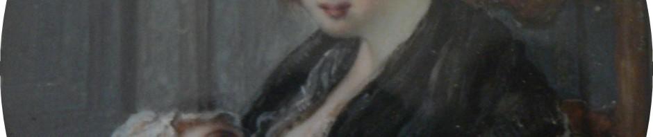 portrait en miniature de Mme Pradal, coll. part.
