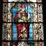 Vitrail représentant Saint Arnould