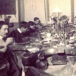Un atelier de bijoutier en 1900 à Perpignan