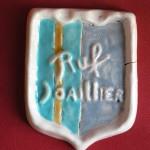 publicitat del joier Ruf, ceramica aprop del 1960, Perpinyà