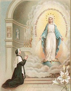 apparition de la Vierge