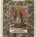Saint Arnould, dans la Galerie religieuse, patron des brasseurs