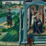 Saint Arnoult et le miracle de l'anneau retrouvé.