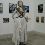 Arlesienne en costume d'époque.