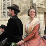 Arlesienne sur le cheval