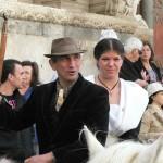 Couple gardian et Arlesienne