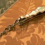 Clavier ou crochet en argent poinçon de Perpignan, fin du XVIIIe s.