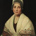 Portrait de Catalane au châle blanc, Coll. Casa Pairal, Perpignan, vers 1845.