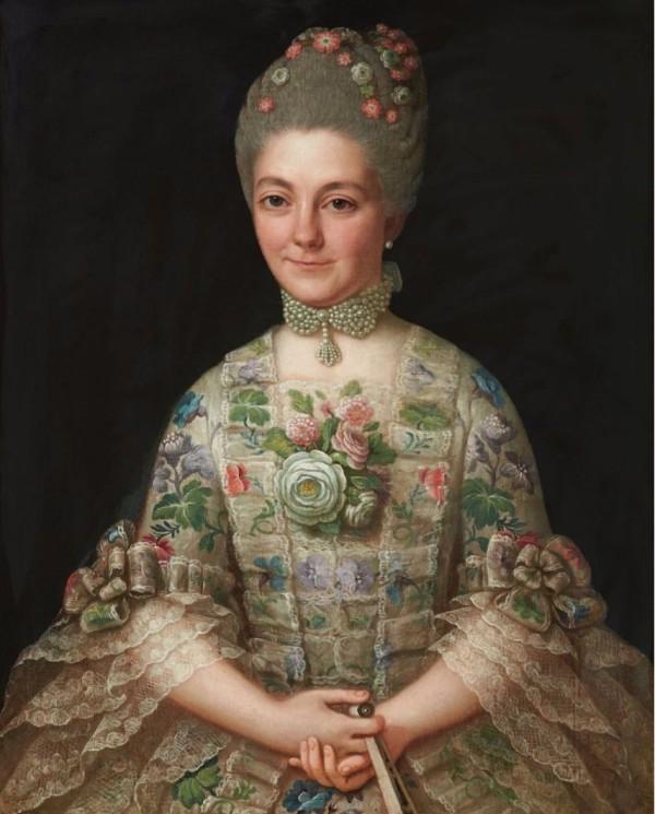 Portrait de femme, vers 1760.