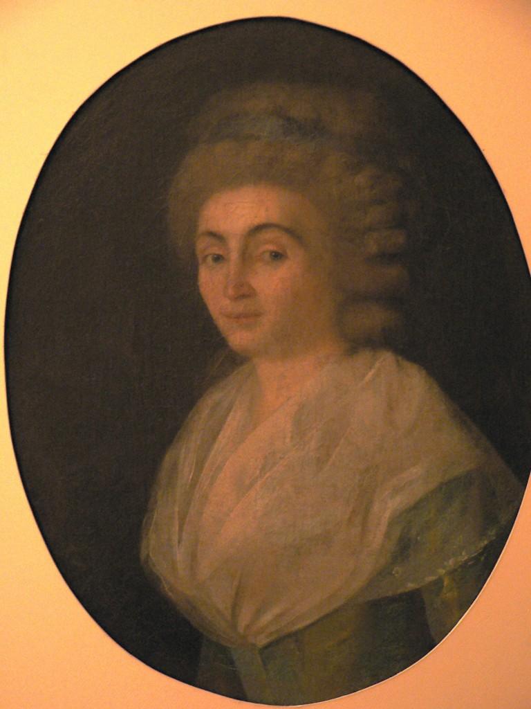 Portrait de femme, vers 1790.