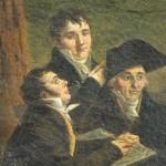Le groupe des artistes