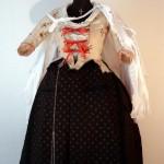 femme de Maître Artisan de Perpignan, costume d'époque, coll. part.