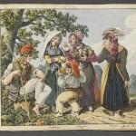Etude de costumes des P.O., MNATP, Paris, 1818.