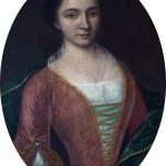 Portrait de femme, début du 18e s., coll. part. Ancien Hotel de l'Europe.