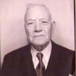 Joseph Calvet à la fin de sa vie