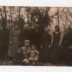 La famille Calvet à Prades vers 1920