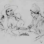 Famille du Roussillon, 1848, Hora Siccama.