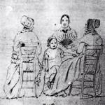 Groupe de femmes à la mode, 1848, Hora Siccama.