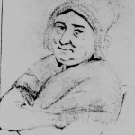 Femme à la coiffe tuyautée, 1848, Hora Siccama.