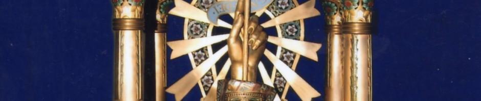 Reliquaire d'Armand-Calliat, 1898, trésor de la cathédrale de Perpignan