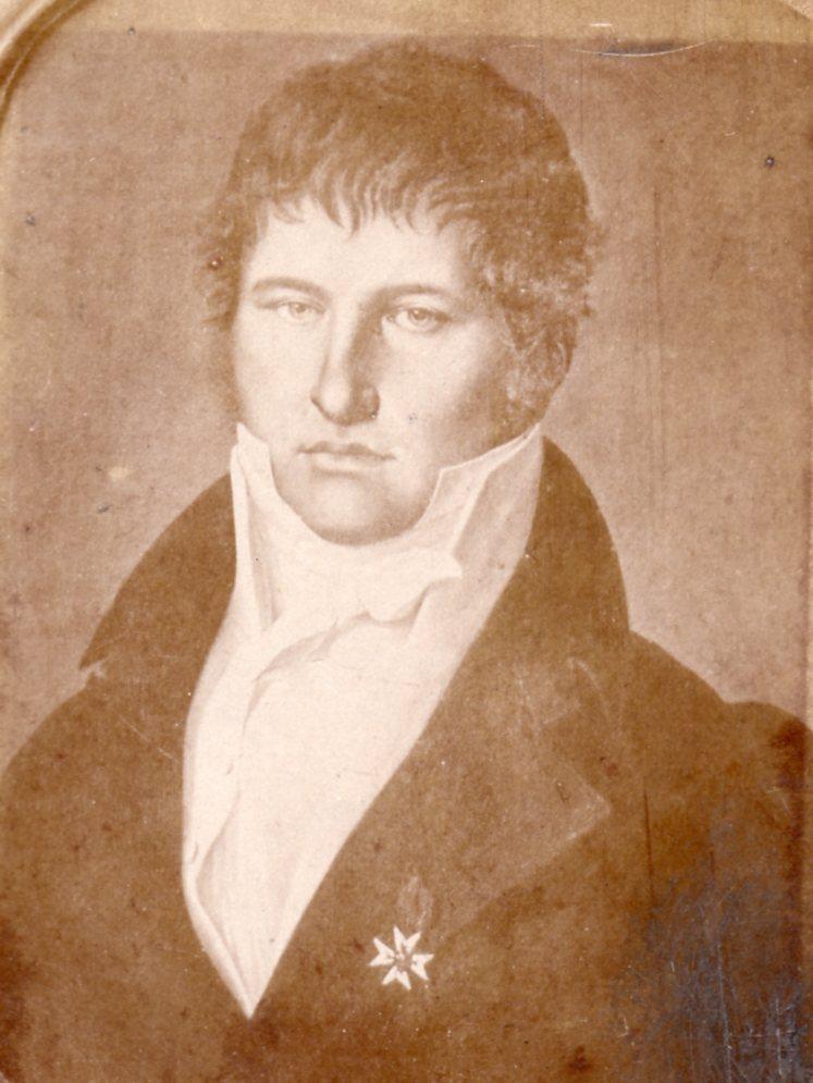 Portrait d'homme, vers 1810, Perpignan.