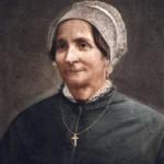 Portrait de femme en coiffe catalane, fin du 19e s.